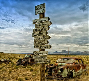 Route 66, Photo courtesy of Pixabay-300px