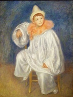The White Pierrot (c1901-1902) by Pierre-Auguste Renoir, Detroit Institute of Arts, Photo by cjverb (2017)