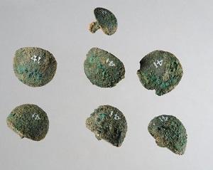 Bronze Stud Nails, Greece (1400-1060 BCE), British Museum