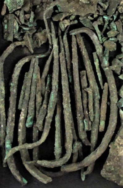Copper Nails, Egypt (c2500 BCE), British Museum