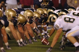 Line of Scrimmage (2005), Photo by Zack Baddorf, Wikimedia Commons