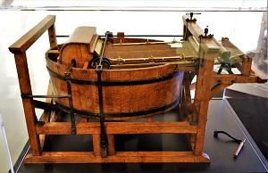 Model of Nicolas-Louis Robert's Paper Machine, Robert C. Williams Paper Museum-300px
