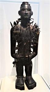 Nkisi Nkondi, Kongo (c1850), Univ of Michigan Museum of Art, Photo by cjverb (2018)