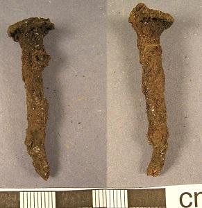 Roman Iron Nail (c43-410), Portable Antiquities Scheme (British Museum), WikiMedia Commons