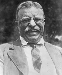 Theodore Roosevelt, Wikimedia Commons-300px