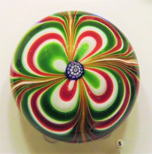 Marbrie Paperweight by Saint-Louis (c1850), FIA, Photo by cjverb (2018)
