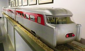 Aerotrain Tail Fins, National Railroad Museum, Photo by cjverb (2018)