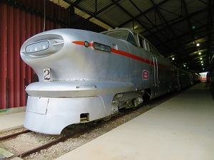Aerotrain, National Railroad Museum, Photo by cjverb (2018)-1-300px