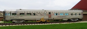 Burlington Zephyr, National Railroad Museum, Photo by cjverb (2018)