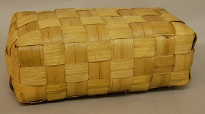 Hawaiian Pillow Made of Pandanus Leaf (1898), British Museum