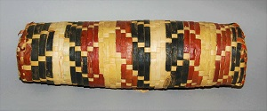 Niue Pillow Made of Plaited Leaf Strips (c1920s), British Museum
