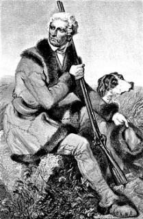 Daniel Boone by Alonzo Chappel (1861), Wikimedia Commons