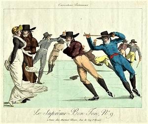 Le Supreme Bon Ton 9, Martinet, Paris, (c.1810-1815), Wikimedia Commons