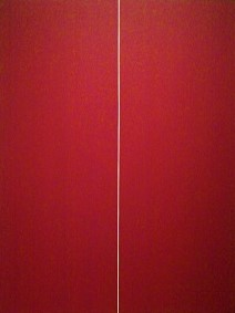 be i (1970) by barnett newman, detroit institute of arts, photo by cjverb (2017)