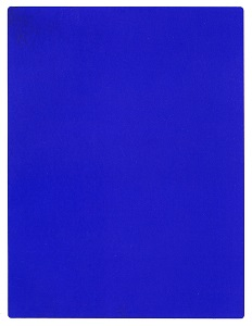 ikb 191 (1962) by yves klein, wikimedia commons