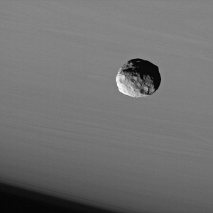 Janus, Photo taken by Cassini Spacecraft, NASA-JPL-Space Science Institute (2006)