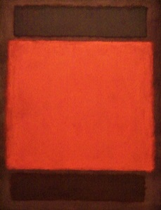 orange, brown (1963) by mark rothko, detroit institute of arts, photo by cjverb (2017)