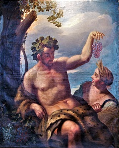 Bacchus and Ceres(1702), by Hinrich Krock, Museumsberg Flensburg, Wikimedia Commons