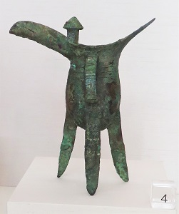 Bronze Jue (Shang Dynasty, 1600-1100 BCE), UMMA, Photo by cjverb (2017)