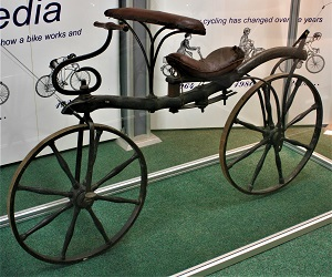 Hobby Horse (1818), Coventry Transport Museum, Wikimedia Commons
