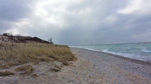 Lake Michigan Shore, Photo by cjverb (2014)