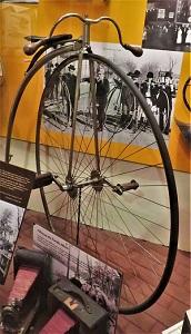 Ordinary Bike (c1885), Neville Public Museum, Photo by cjverb (2018)