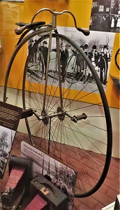 Ordinary Bike (c1885), Neville Public Museum, Photo by cjverb (2018)