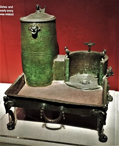 Portable Wine Heater (c79 CE), Montreal Museum of Fine Art, Photo by cjverb (2016)