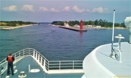 Riding the Lake Express Lake Michigan Ferry, Photo by cjverb (2010)
