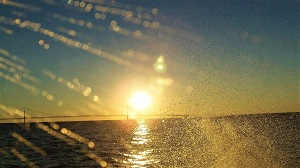 Riding the Ferry Over the Mackinac Straits, Photo by cjverb (2013)