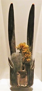 Bobo Helmet Mask, Flint Institute of Arts, Photo by cjverb (2018)