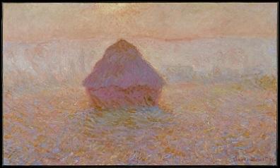Grainstack, Sun in Mist (1891) by Claude Monet, Minneapolis Institute of Art