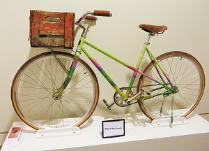 Grainstack, Sun in Mist Bicycle by Handsome Cycles, Minneapolis Institute of Art, Photo by cjverb (2018)