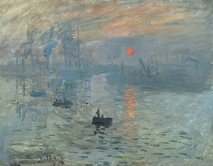 Impression, Sunrise by Claude Monet (1872)