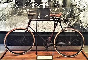 Safety Bicycle by Premiere Bicycle Company, Fort Mackinac, Photo by cjverb (2017)