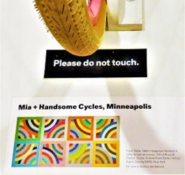 Tahkt-I-Sulayman Variation II Bicycle by Handsome Cycles, Minneapolis Institute of Art, Photo by cjverb (2018)-Placard