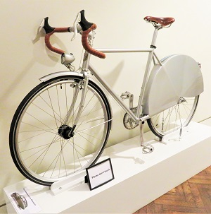 Tatra T87 Bicycle by Handsome Cycles, Minneapolis Institute of Art, Photo by cjverb (2018)