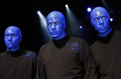 Blue Man Group (2009), Photo by Galeria de Léo Pinheiro,Wikimedia Commons