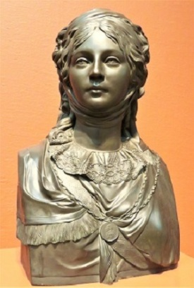 Bust of Queen Luise of Prussia (c1819) by Johann Schadow, Art Institute of Chicago, Photo by cjverb (2019)