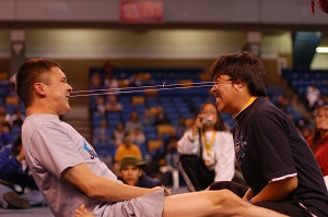 Ear Pull, Arctic Winter Games (2008), Photo by Andrew Otto, Wikimedia Commons