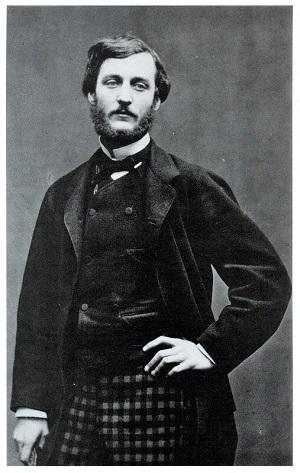 Frédéric Bazille (1865) by Etienne Carjat, Wikimedia Commons