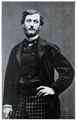 Frédéric Bazille (1865) by Etienne Carjat, Wikimedia Commons