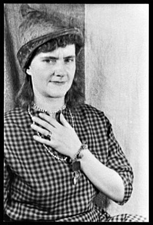 Gertrude Abercrombie (1951) by Carl Van Vetchen, Wikimedia Commons