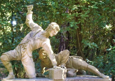 Saccomazzone by Orazio Mochi, Boboli Garndens, Wikimedia Commons