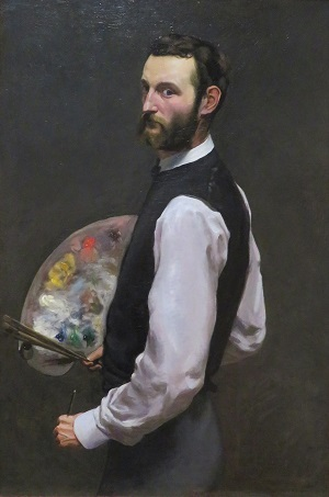 Self-Portrait (1865-1866) by Frédéric Bazille, Art Institute of Chicago, Photo by cjverb (2019)