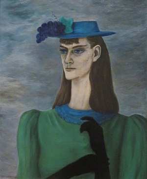 Self-Portrait of My Sister (1941) by Gertrude Abercrombie, Art Institute of Chicago, Photo by cjverb (2019)