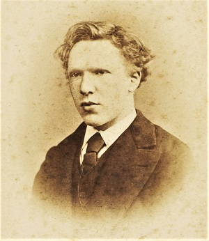 Vincent van Gogh (1873, cropped), Van Gogh Museum Collection, Wikimedia Commons