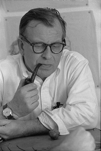 Eero Saarinen (c1950) by Balthazar Korab, Wikimedia Commons
