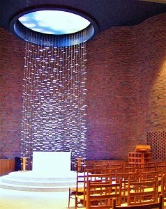 MIT Chapel by Eero Saarinen, Photo by Daderot, Wikimedia Commons