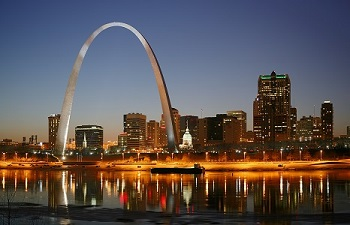 St. Louis Gateway Arch, Photo by Daniel Schwen, Wikimedia Commons